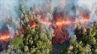Hawaii: hundreds evacuated after Kilauea volcano erupts