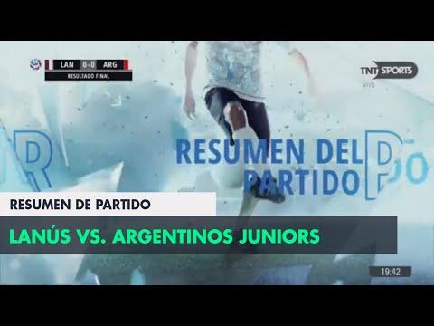 Resumen de Lanús vs Argentinos Jrs. (0-0)   Fecha 25 - Superliga Argentina 2017/2018