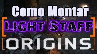 Origins | Light Staff | Cajado de raio como montar