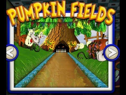 Gutterball Golden Pin Bowling Gameplay (Pumpkin Fields)