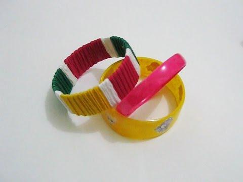 kreatif cara membuat gelang dari tali sepatu   Doovi