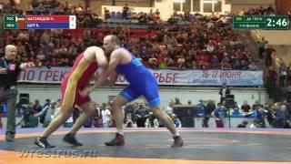 130 кг. Ислам Магомедов - Виталий Щур. 1/4 финала.
