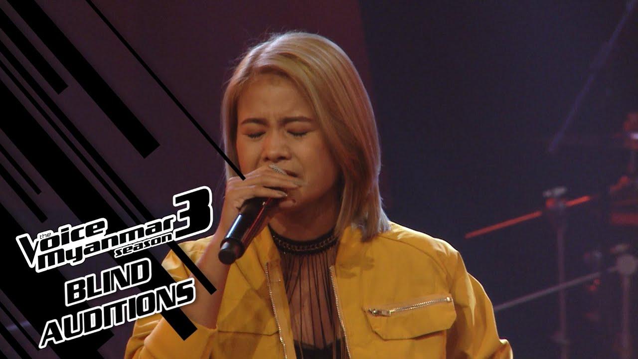"Su Pyae Wai Shan: ""မိုးခါးရေ"" - Blind Auditions - The Voice Myanmar Season 3, 2020"