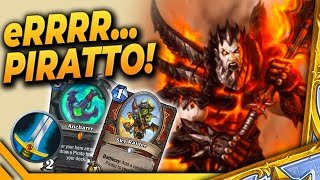 Klasyka: eRRR Piratto - PIRATE Warrior1 - Hearthstone Deck