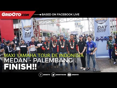 MAXI YAMAHA Tour de Indonesia, Medan-Palembang Finish