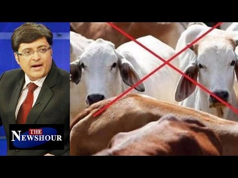 Is Eating BEEF A Crime?: The Newshour Debate (17th March 2016)