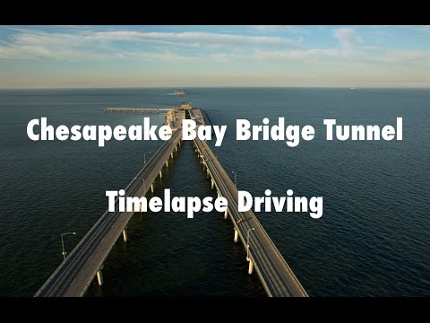 Chesapeake Bay Bridge Tunnel - US 13 Eastern Shore Virginia