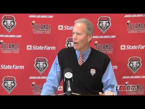 2012 Lobo Football | Coach Bob Davie