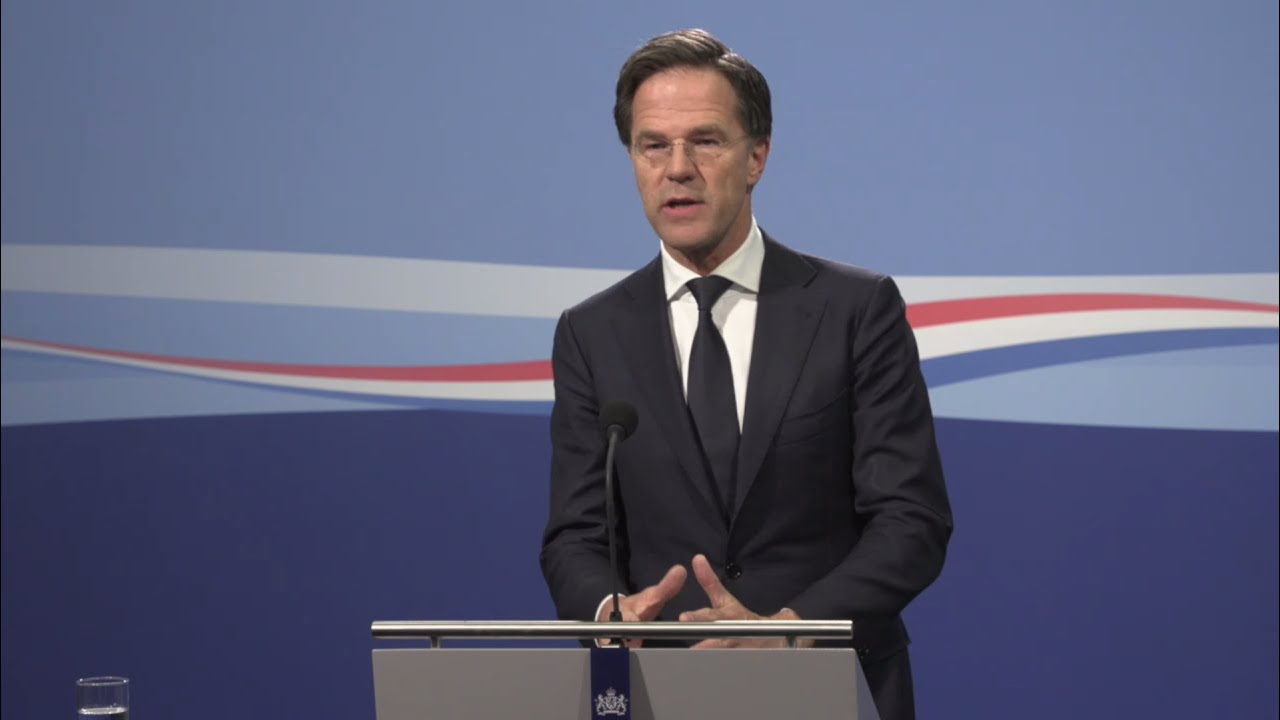 Integrale Persconferentie Van MP Rutte Van 17 April 2020