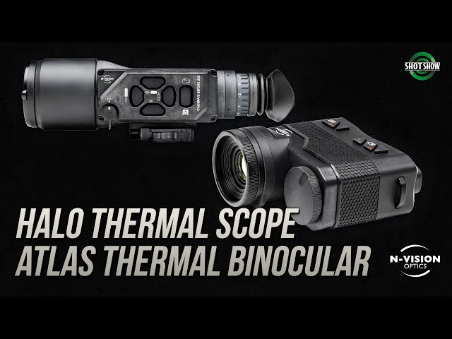 Nvision HALO Thermal Scope and Atlas Thermal Binocular - SHOT Show 2020