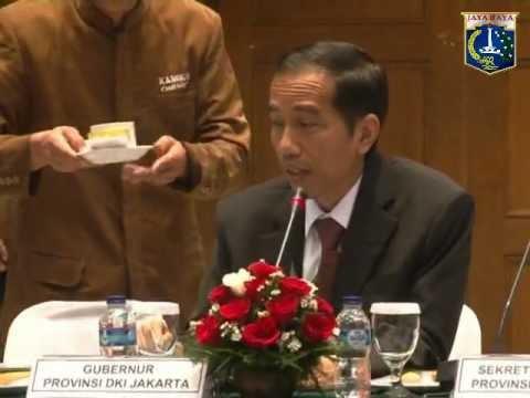 07 Desember 2012 Gub Bpk. Jokowi Rakor terkait Monorail di Balai Agung