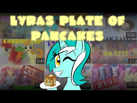 MLP | Lyra'sPlateOfPancakes 2018 Channel Trailer