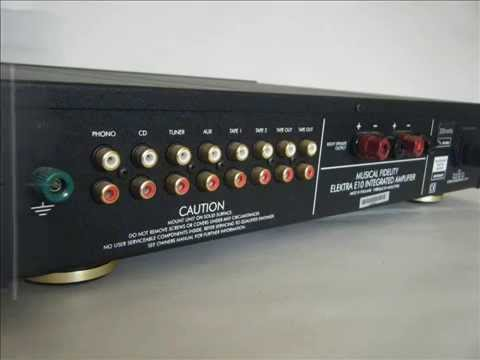 Musical Fidelity Elektra E10 Intergrated Amp eBay Listing by Alchemistic