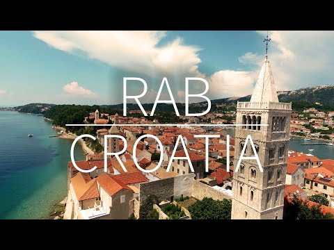 RAB - Croatia| DRONE FOOTAGE | Pointers Travel