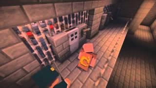 Если бы арестовали Нотча   Minecraft Machinima Сериал Minecraft Русский Дубляж
