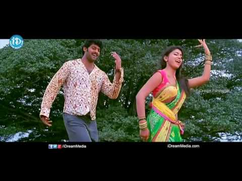 Chatrapati Movie HD Video Songs    Gundu Sudhi Song   Prabhas   Shriya Saran   Rajamouli