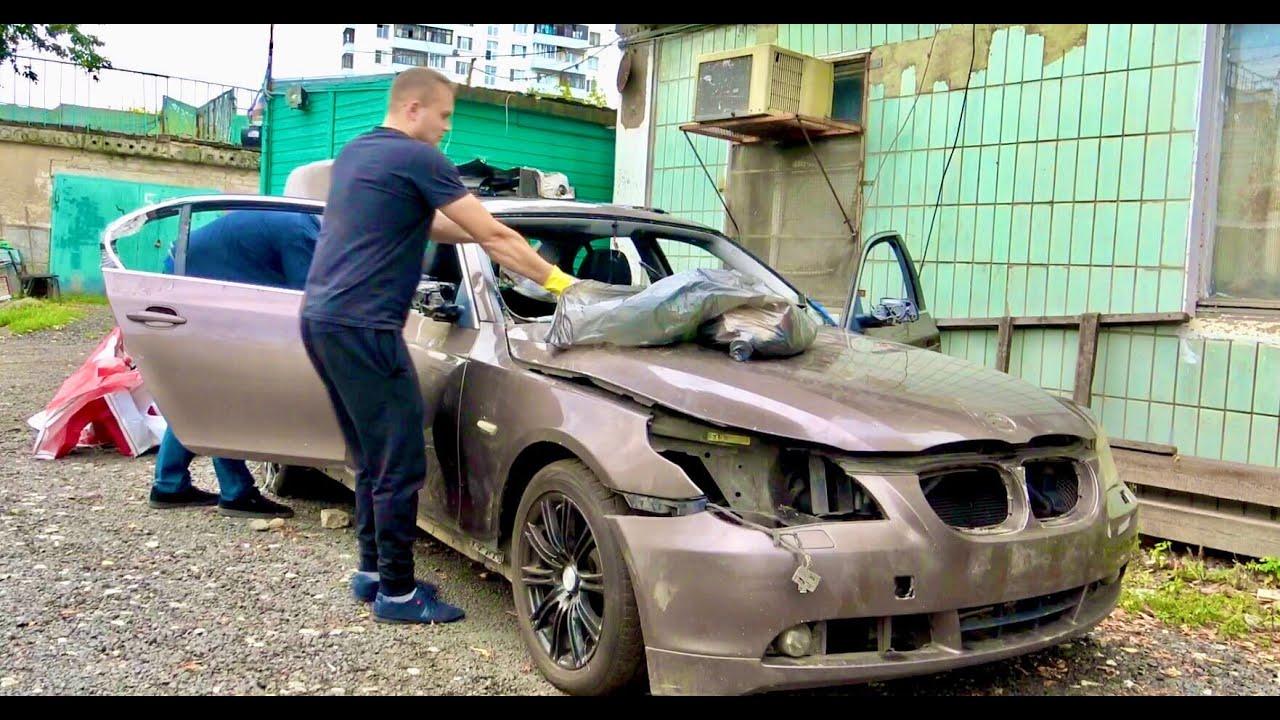 Поставить на ход за 2 дня BMW E60. Решала 5.