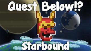 Quest Under The Outpost!? - Starbound Unstable/Nightly Build