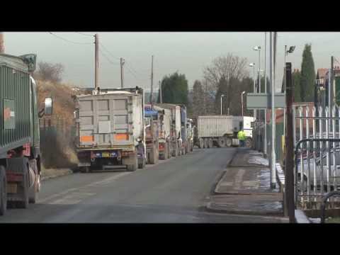 British Salt Queues, Middlewich, Cheshire - 06/02/09