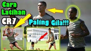 SUNGGUH GILA!!! Cara Berlatih Cristiano Ronaldo Membuat Pemain Juventus ini Terpesona