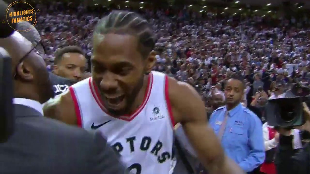 Kawhi Leonard won't celebrate until it's over. Thanks to him, Raptors are one win away.