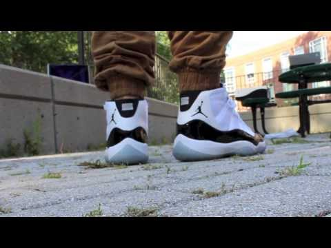 Jordan Concord XI On Feet Review 2013 in HD