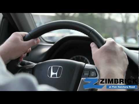 Vehicle Test Drive At Zimbrick Fish Hatchery Road In Madison Wisconsin
