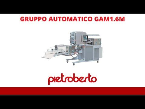 Pietroberto multi product bread bakery machine GAM 1,6A