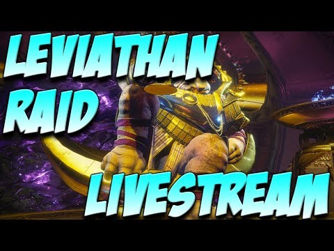 Helping Viewers with Leviathan Raid!!!!