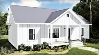 Modern Farmhouse Plan 1776-00100