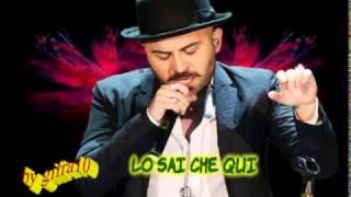 Negramaro - Lo sai da qui (karaoke fair use)