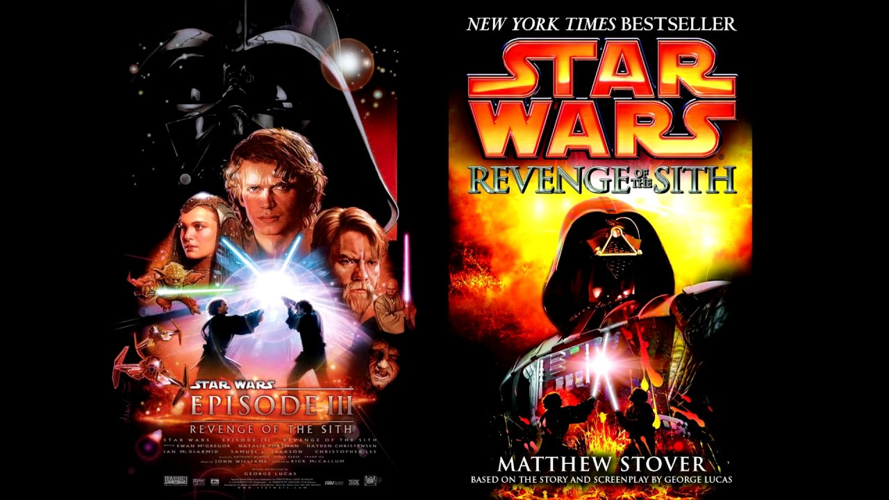 What S The Difference Between Star Wars Revenge Of The Sith Book Vs Movie Youtube