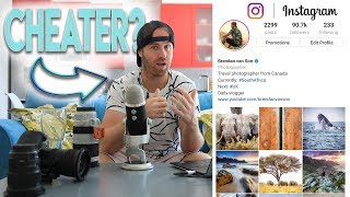 How Photographers Grow on Instagram by CHEATING