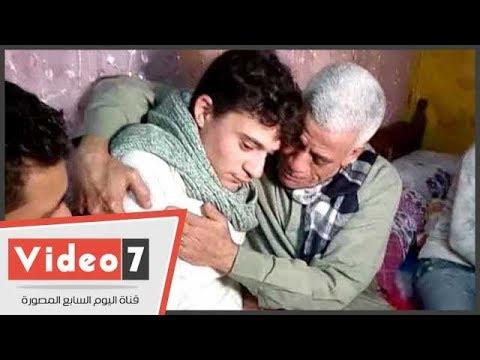 الناجى الوحيد من حادث أسانسير مستشفى بنها باكيًا: شاهدت أختى تصارع الموت.. وأطالب بإعدام الجناة