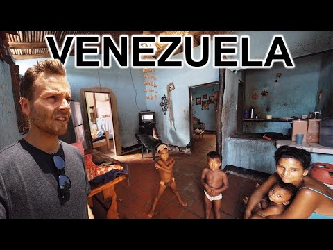 ABANDONED VENEZUELAN HOTEL (People Live Inside Rooms)