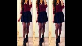Outfits con falda negra