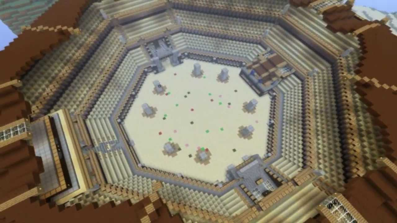 Minecraft Coliseum with Download Link