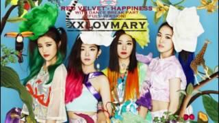 AUDIO RED VELVET   HAPPINESS With DANCE BREAK PART Full Version