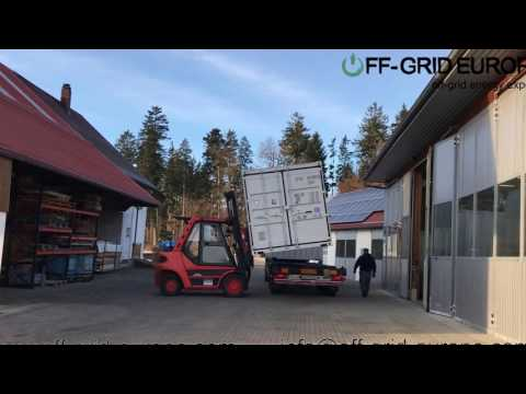 Off Grid Solar Power Container design and manufacturing service