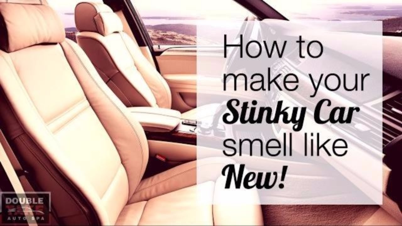 Car interior odor bomb