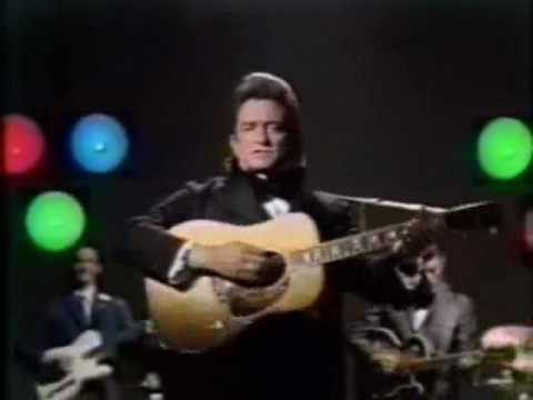 Johnny Cash  A Boy Named Sue & A Poem