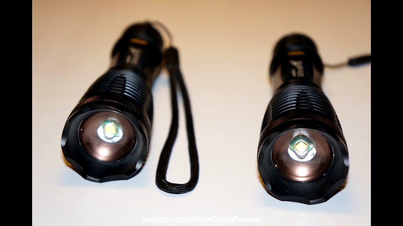 обзор фонарей с алиэкспресс