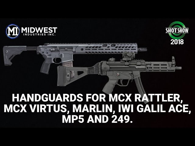 Midwest Industries New Handguards - SHOT Show 2018 Day 4