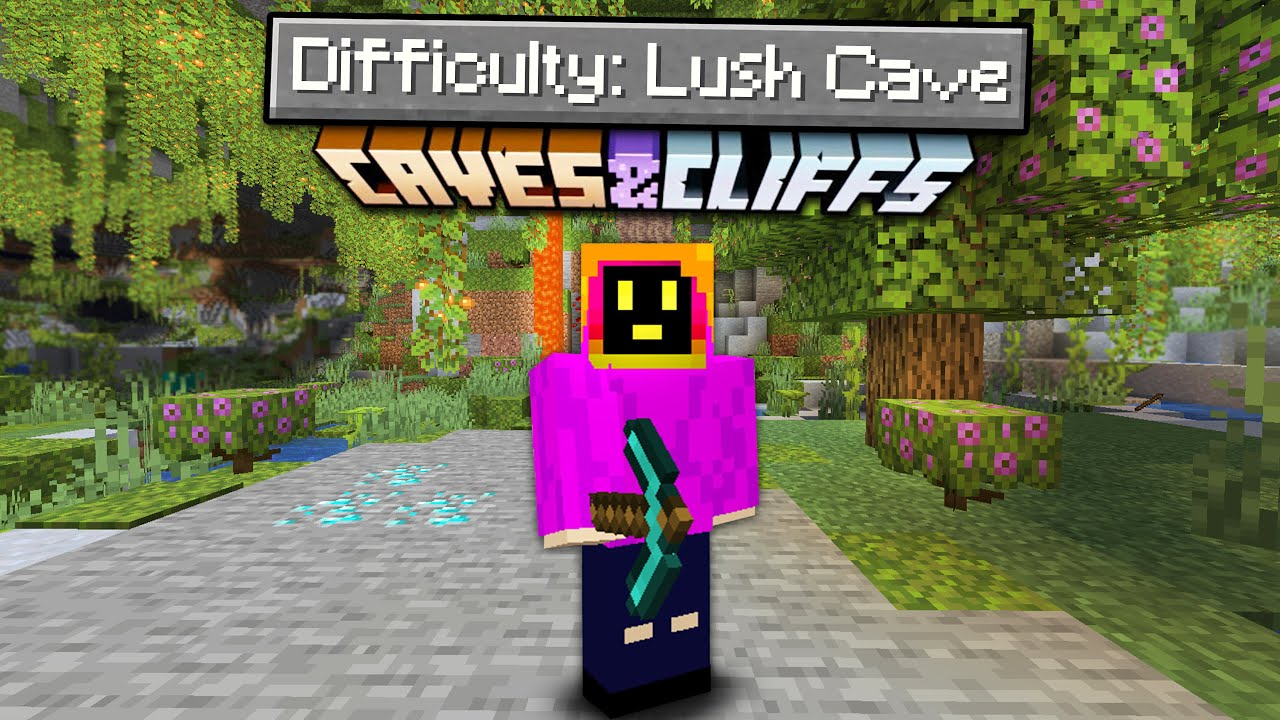 Can You Beat Minecraft In A Lush Cave Only World?
