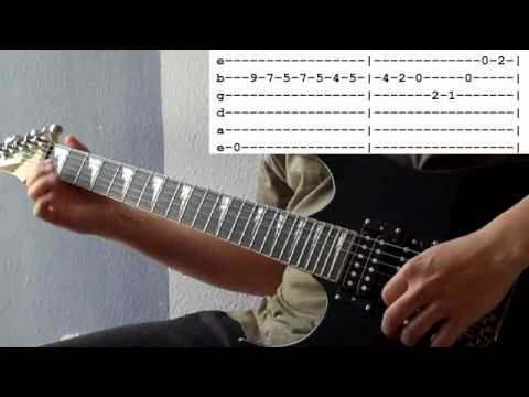 And Your Bird Can Sing Lead Guitar 1 Lesson With Tabs