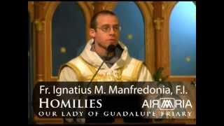 May 18 - Homily: St. Felix of Cantalice