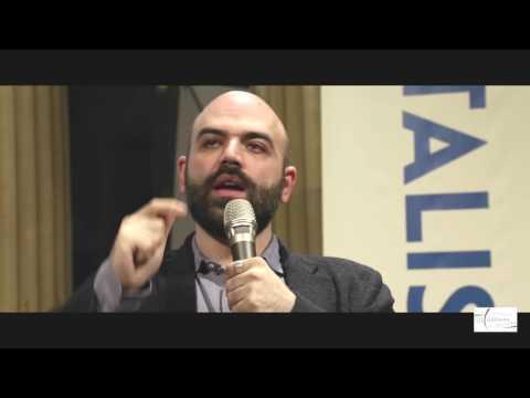 Roberto Saviano all'Istituto italiano di cultura (marzo 2017)