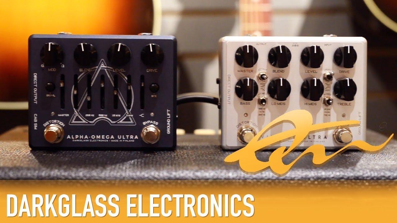 Darkglass Vintage Ultra vs Alpha Omega Ultra — Quest Music Store