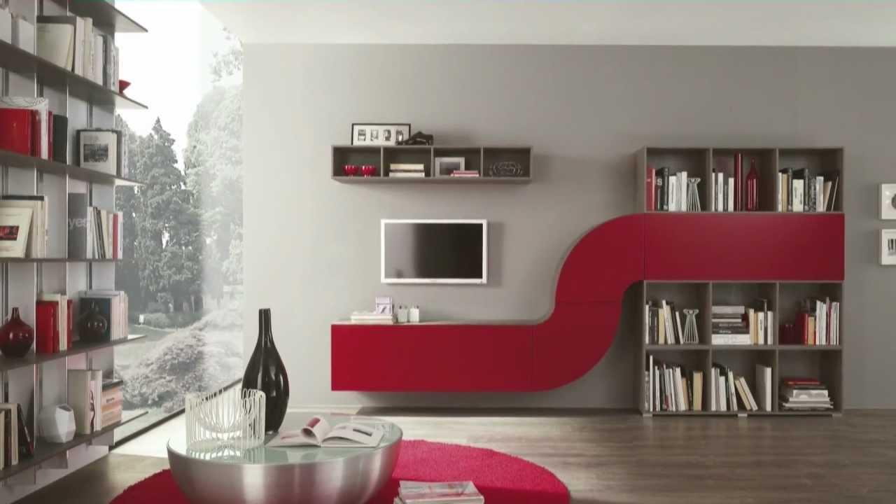 Arredamento soggiorno in stile moderno Velvet Millennium ARTIGIANMOBILI - Arr...