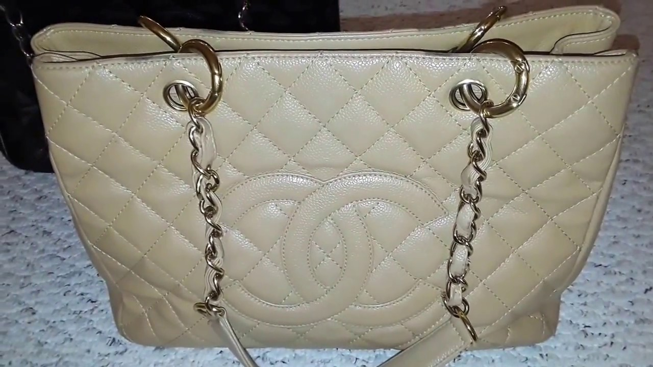 00c9d424091ae0 Fake VS Real Chanel GST - YouTube